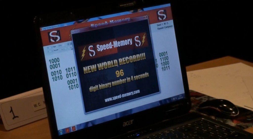 Análisis de los récords de memorización de binarios en 4 segundos