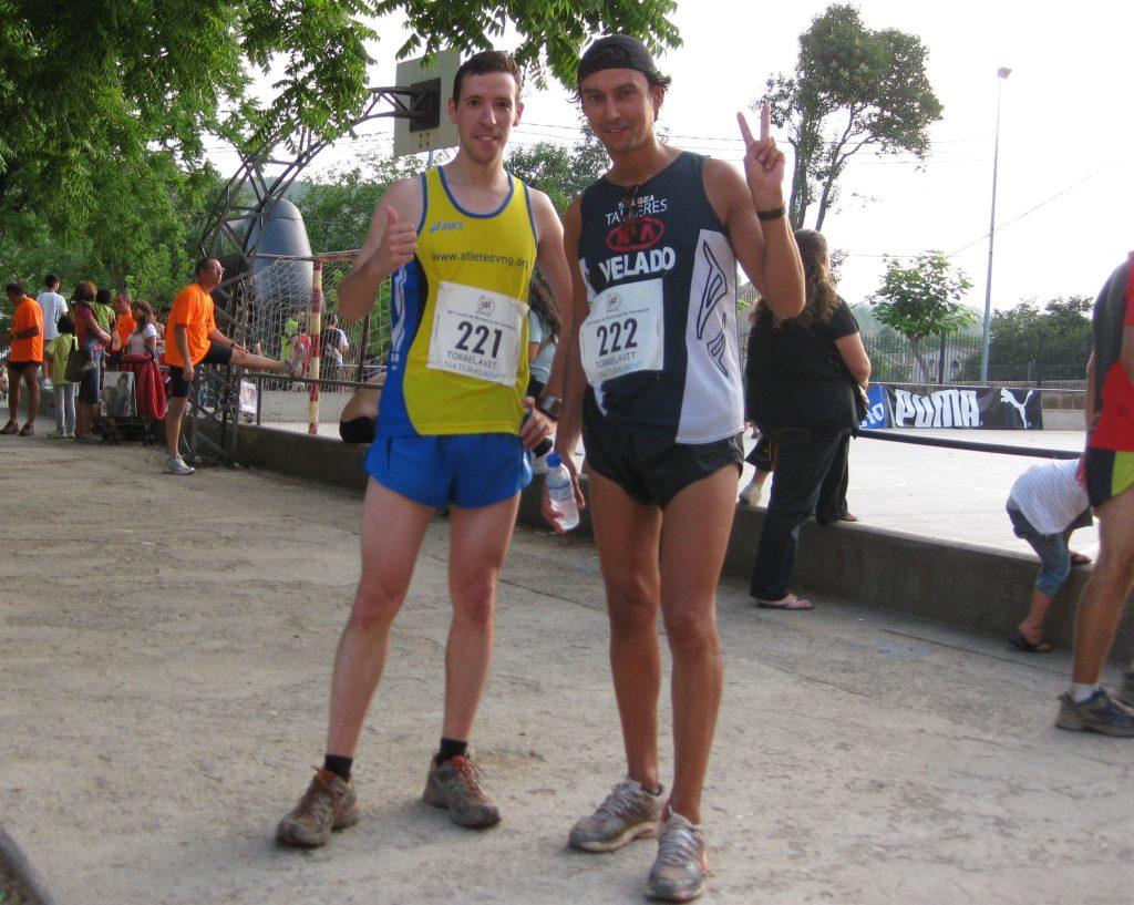 Alberto Coto corriendo