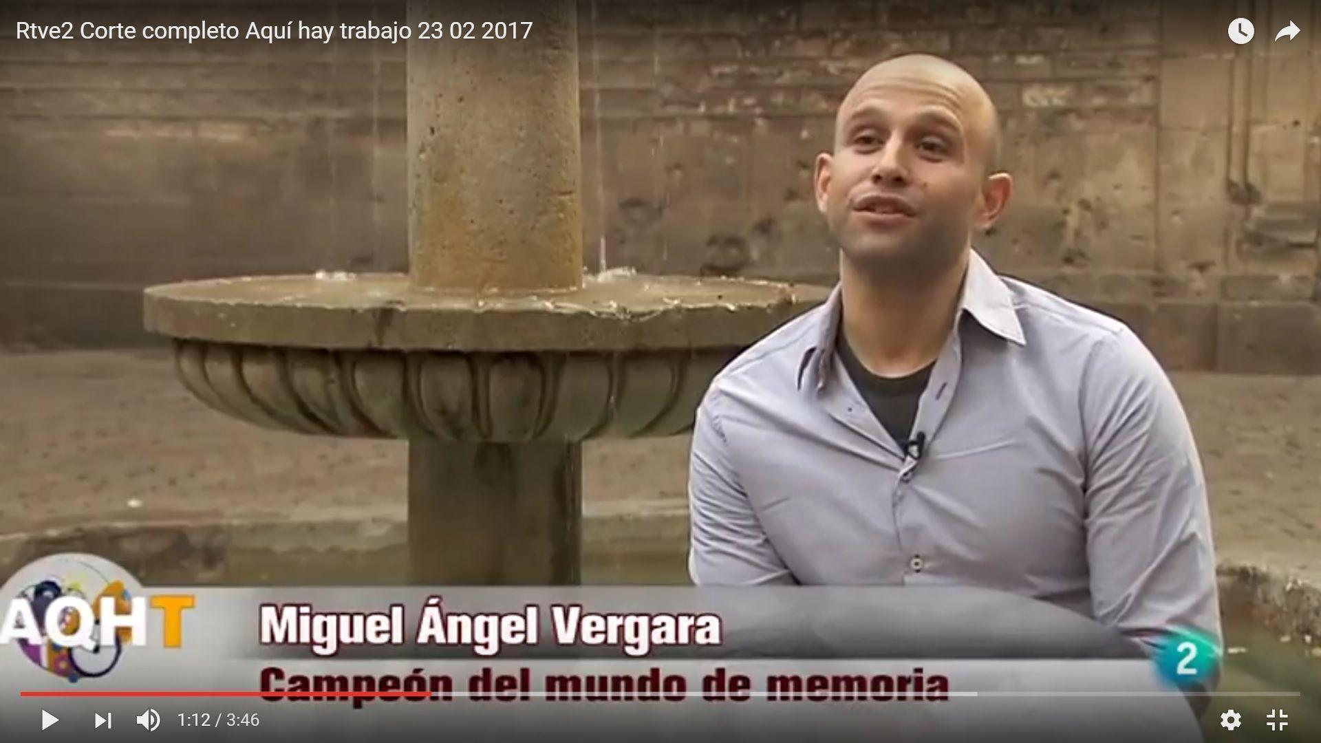 Entrevista TVE2 En primera persona Miguel Angel Vergara