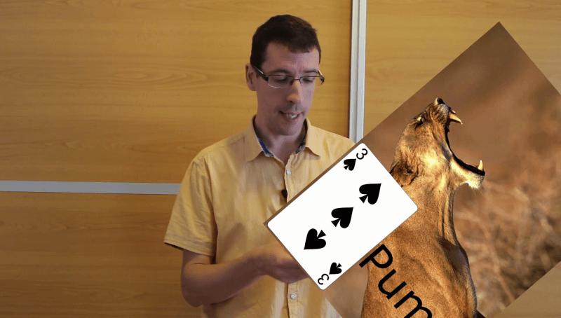 Memorizar baraja de cartas