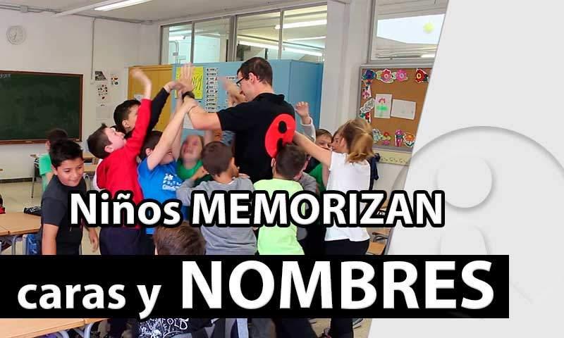 Niños memorizan caras y nombres [Vídeo]