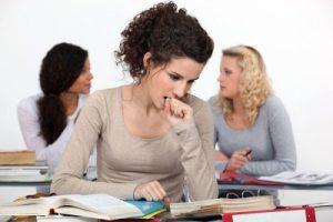 Nervios antes del examen
